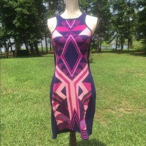 Express Bodycon Sleeveless Midi Dress Size Medium